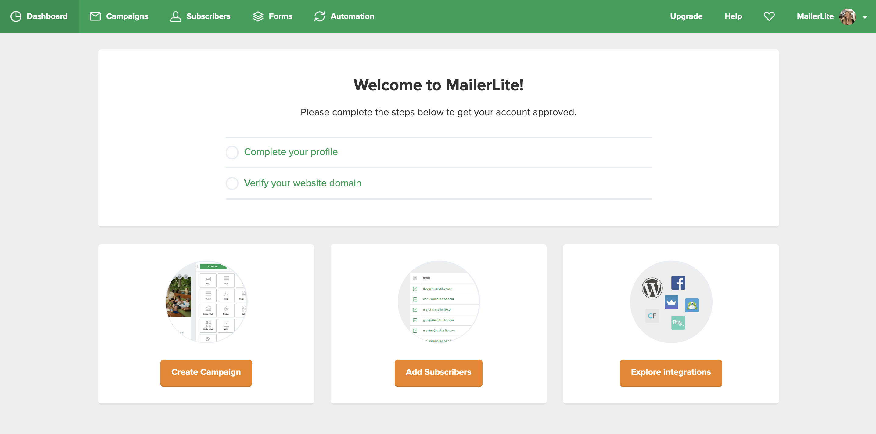 MailerLite - Getting started with MailerLite